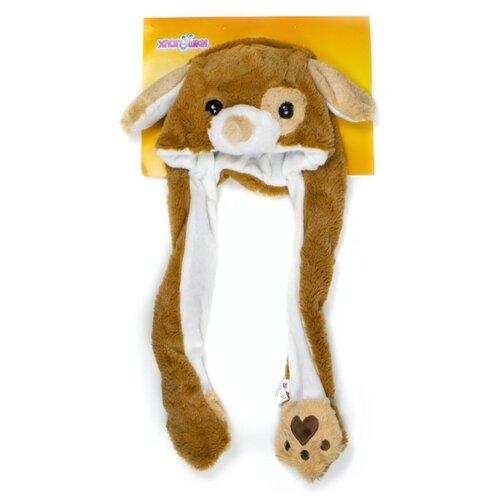 Купить Головной убор 1 TOY Хлоп-Ушки Собака (Т17632), коричневый, Карнавальные костюмы