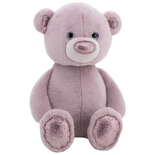 Купить Мягкая игрушка Orange Toys Пушистик Медвежонок сиреневый 35 см, Мягкие игрушки
