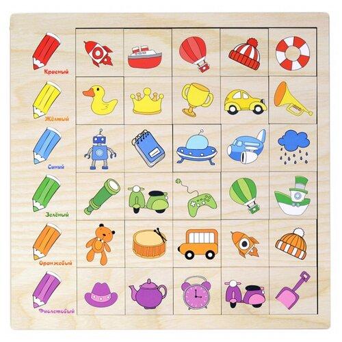 Настольная игра PAREMO Ассоциации. Цвет paremo обучающая игра paremo ассоциации 30 элементов