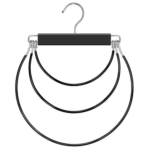 Вешалка Valiant SR3 черный вешалка valiant с разъемными перекладинами 50325 серебристый черный