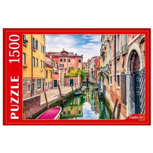 Купить Пазл Рыжий кот Италия Яркая улица в Венеции (ГИП1500-0624), 1500 дет., Пазлы