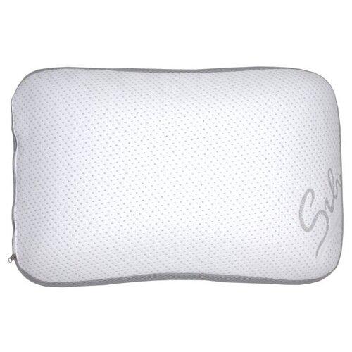 SLEEP DELIVERY Подушка классическая с эффектом памяти Серебро с сеткой 40*60см