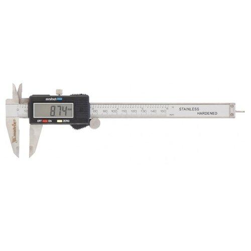 Цифровой штангенциркуль matrix 31611 150 мм, 0.01 мм цифровой штангенциркуль norgau ip67 200мм 0 01мм 040051020