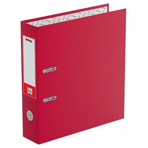 Berlingo Папка-регистратор с карманом на корешке Standard А4, бумвинил, 70 мм бордовый berlingo папка регистратор с карманом на корешке standard а4 бумвинил 70 мм красный