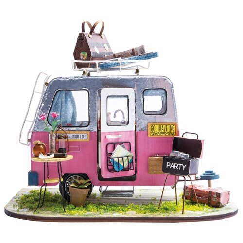 Сборная модель BONDIBON Дом на колесах дурова наталия юрьевна мой дом на колесах