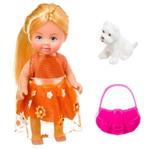Игровой набор Bondibon OLY Куколка с собачкой и сумочкой в прозрачном шаре, 11 см, ВВ3887, Куклы и пупсы  - купить со скидкой