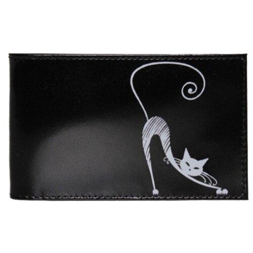 Фото - Визитница Befler Изящная кошка, черный befler v 34 1 red