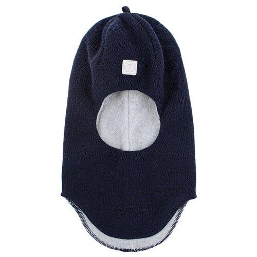 Купить Шапка-шлем crockid размер 50-52, темно-синий, Головные уборы