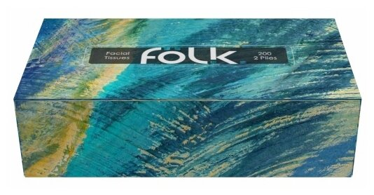 Салфетки Folk Краски