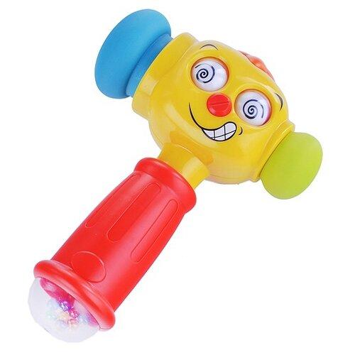 Интерактивная развивающая игрушка Play Smart Расти малыш. Забавный молоток, красный/желтый