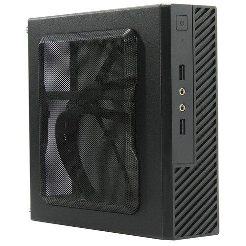 Компьютерный корпус Powerman ME100S 120W Black компьютерный корпус powerman ps201 300w black
