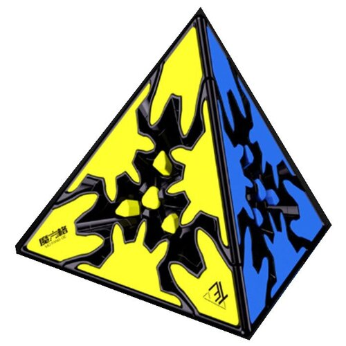 Купить Головоломка QiYi MoFangGe Gear Pyraminx (пирамида), Головоломки