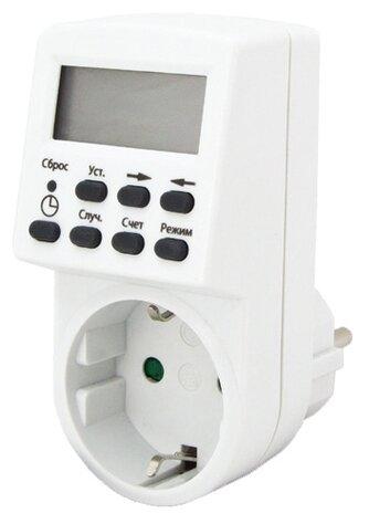 Розетка-таймер TDM ЕLECTRIC SQ1506-0002 ТРЭ-01