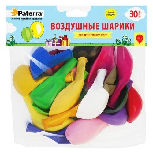 Набор воздушных шаров Paterra 401-534 (30 шт.) разноцветный