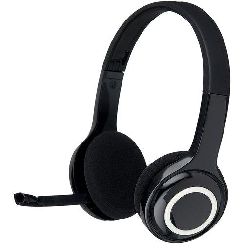 беспроводная гарнитура logitech wireless headset h600 981 000342 Компьютерная гарнитура Logitech Wireless Headset H600
