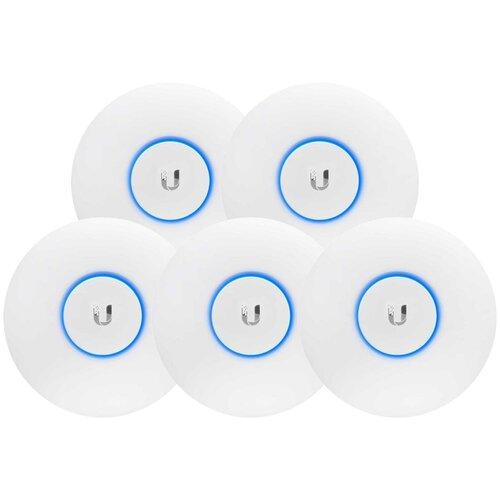 Фото - Wi-Fi точка доступа Ubiquiti UniFi AC LR 5-pack, белый wi fi точка доступа ubiquiti unifi ac lite белый