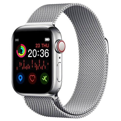 Фото - Умные часы BandRate Smart SHX66WB, серебристый умные часы beverni smart watch t58 серебристый
