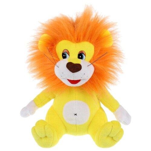 Мягкая игрушка Мульти-Пульти Львенок озвученный 22 см, Мягкие игрушки  - купить со скидкой