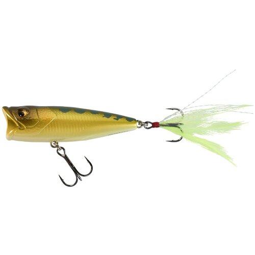 Воблер для хищной рыбы 65 F, размер: NO SIZE, цвет: Ореховый/Оранжево-Желтый CAPERLAN Х Декатлон