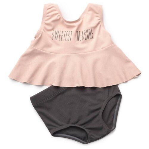 Купальник Happy Baby размер 104-110, pink/grey купальник pink summer pink summer pi030ewfuau8