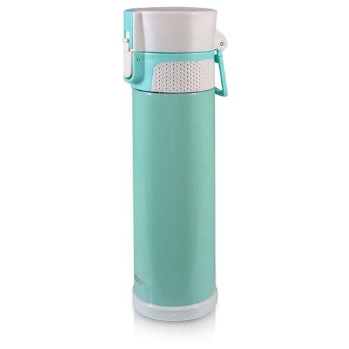 Термокружка Fissman 9722, 0.5 л аквамарин