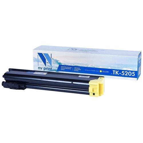 Фото - Картридж NV Print TK-5205 Yellow для Kyocera, совместимый картридж nv print tk 895 yellow для kyocera совместимый