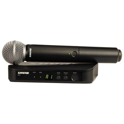 SHURE BLX24E/SM58 M17 Радиосистема (радиомикрофон)