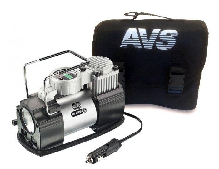 Автомобильный компрессор AVS KE400EL — купить по выгодной цене на Яндекс.Маркете