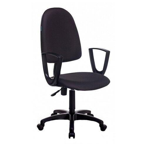 Компьютерное кресло Бюрократ CH-1300N офисное, обивка: текстиль, цвет: черный 3C11 офисное кресло бюрократ ch 1300n