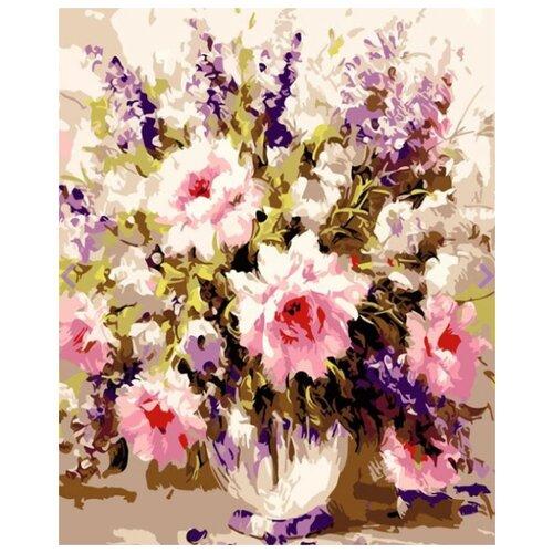 Фото - Картина по номерам Воздушные розы, 30х40 см цветной картина по номерам белый тигр 30х40 см me1072
