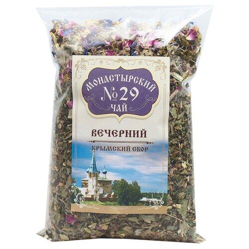 Фото - Чай травяной Крымский чай Монастырский № 29 Вечерний, 100 г чай травяной aroma монастырский 100 г