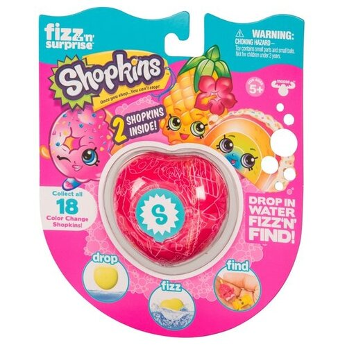 Фигурки Moose Fizz`n`Surprise Shopkins 19083