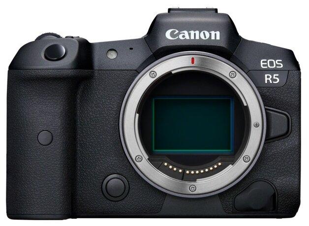 Фотоаппарат Canon EOS R5 Body черный фото 1