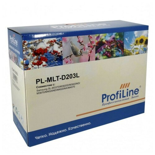 Фото - Картридж ProfiLine PL-MLT-D203L, совместимый картридж profiline pl mlt d203l совместимый