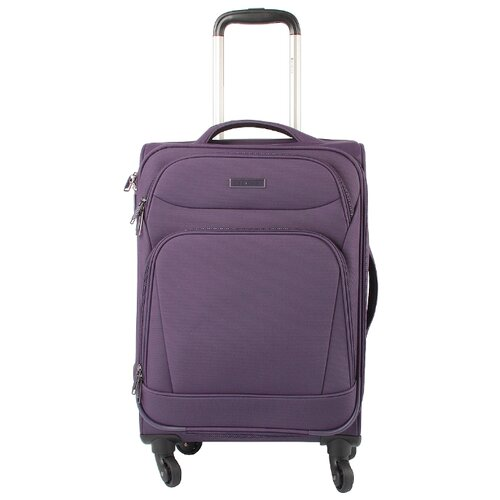 цена Чемодан Edmins 362 S, темно-фиолетовый онлайн в 2017 году