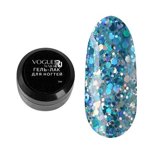 Гель-лак для ногтей Vogue Nails Мулен руж, 5 мл, Блестящее шоу
