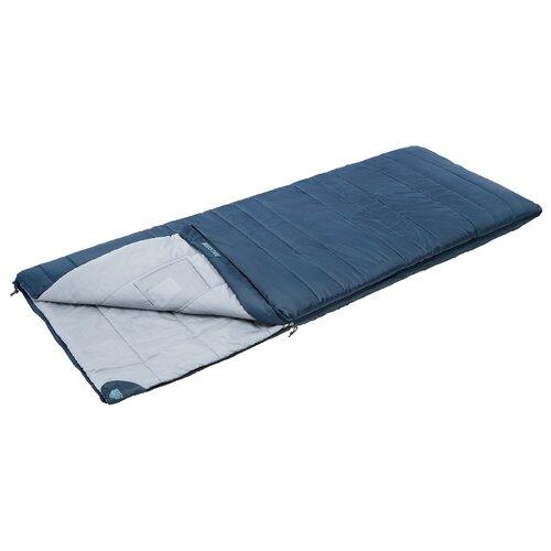 Спальный мешок TREK PLANET Bristol синий с левой стороны