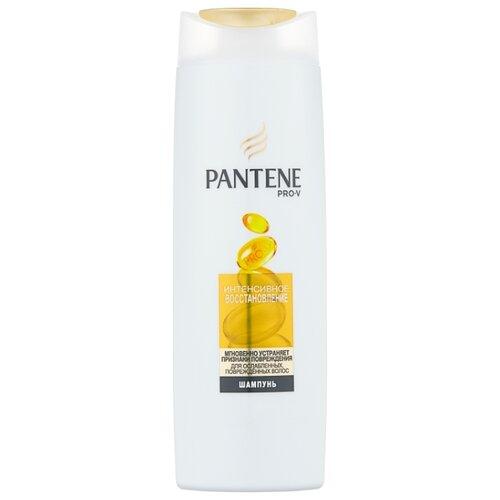 Pantene шампунь Интенсивное восстановление для слабых и поврежденных волос 400 мл шампунь восстановление 400 мл likato шампунь восстановление 400 мл