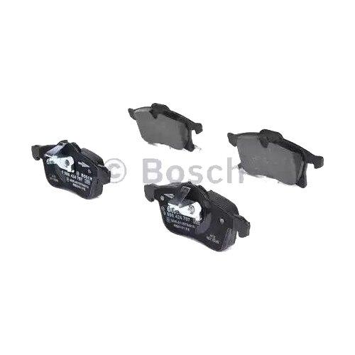 Дисковые тормозные колодки передние Bosch 0986424707 для Opel Astra, Opel Meriva (4 шт.) дисковые тормозные колодки задние bosch 0986424646 для opel astra opel zafira 4 шт