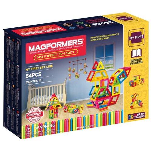 Фото - Конструктор Magformers My First 702002 (63108)-54 конструктор magformers my first 63144 желтый багги