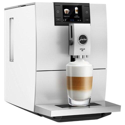 Кофемашина Jura Ena 8 nordic white кофемашина jura z6 satinsilber серебристый черный