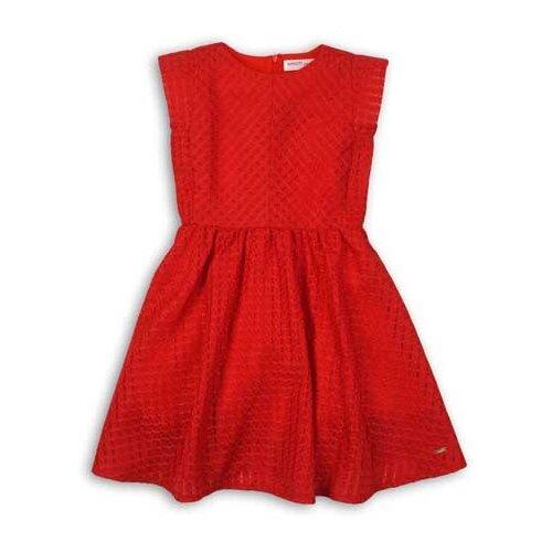 Платье Minoti размер 7-8л, красный