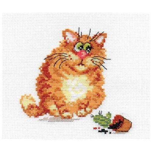 Купить 0-68 Набор для вышивания АЛИСА 'Хулигашка' 13*13см, Алиса, Наборы для вышивания
