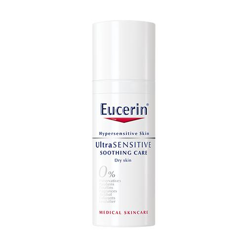 Купить Eucerin UltraSensitive Успокаивающий крем для чувствительной сухой кожи лица, 50 мл