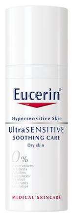 Eucerin UltraSensitive Успокаивающий крем для чувствительной сухой