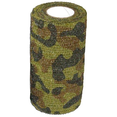 Самофиксирующийся бинт Andover PetFlex 7,5 х 450 зеленый камуфляж 1 шт. 7.5 см