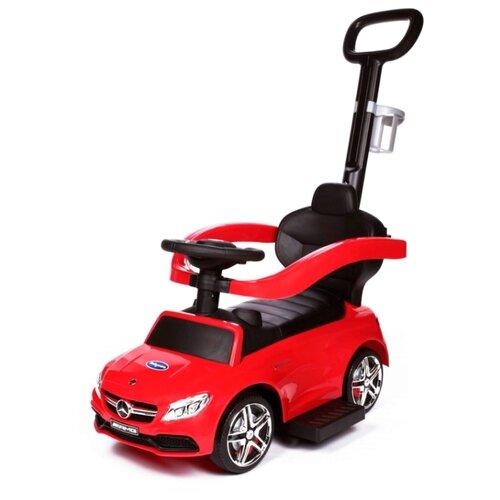 Фото - Каталка-толокар Babycare Mercedes-Benz AMG C63 Coupe (639) красный машинка wincars mercedes amg c63 dtm 1 24 на р у