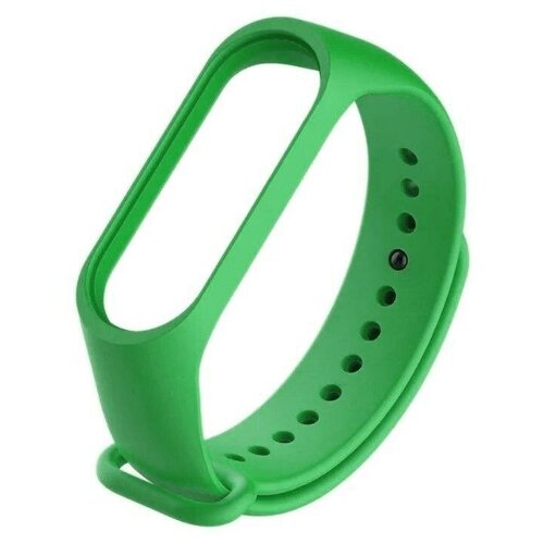 Titan Ремешок силиконовый для Xiaomi Mi Band 3 зеленый