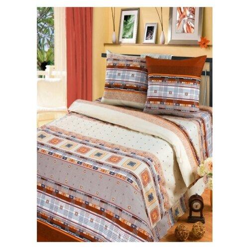 Комплект постельного белья Миланика, Денди,1,5 спальный, Бязь, 100% хлопок,