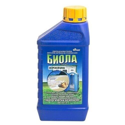 Экосервис Жидкость для биотуалетов Биола Морской бриз 1 л
